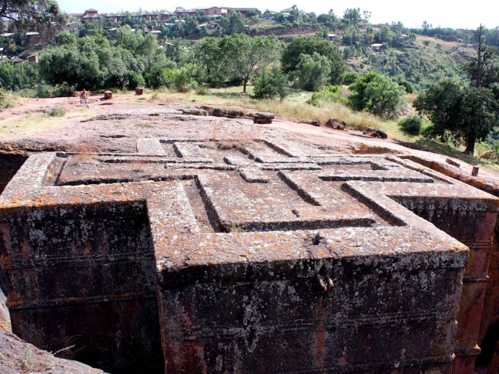 Leserreise nach Äthiopien, Felsenkirche von Lalibela