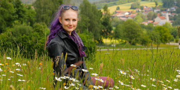 Redakteurin Saskia Schneider