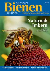 Die aktuelle Ausgabe des deutschen Bienen-Journals 09/2019