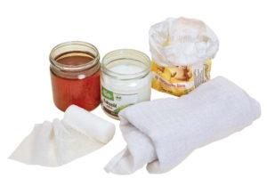 Hustenwickel aus Honig