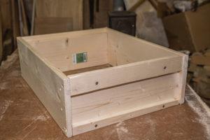 Beute selber bauen mit gehobelten Brettern aus dem Baumarkt