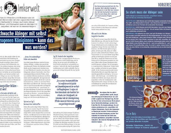 Pias Imkerwelt Heftausgabe 20