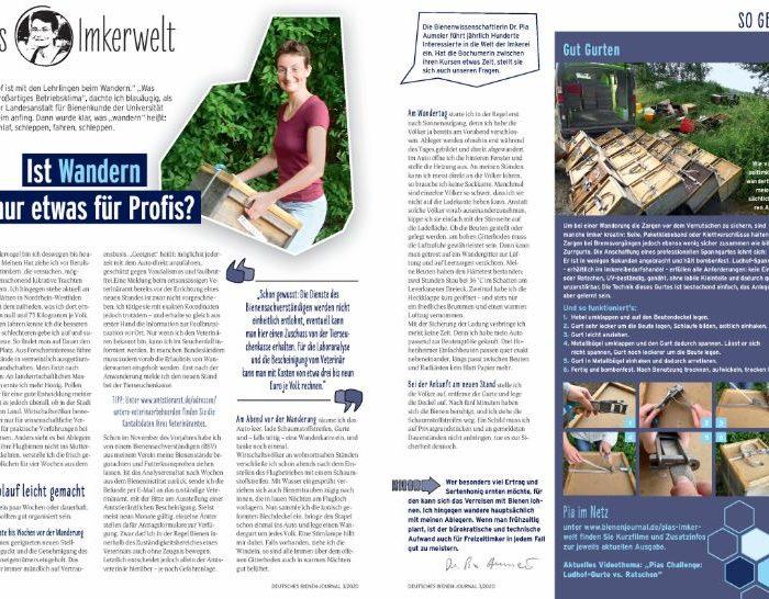 Pias Imkerwelt Heftausgabe März 20