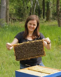 Frühtracht für Bienen unter Druck: Chefredakteurin Silke Beckedorf