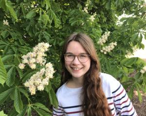 Magdalena Arnold berichtet von ihren Erfahrungen als Jungimkerin