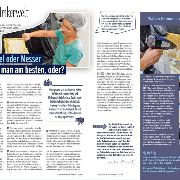 Pias Imkerwelt Heftausgabe Juni