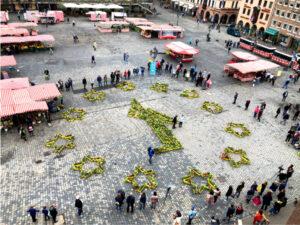 Beedabei Haupmarkt Nürnberg Foto: Christian Schöne