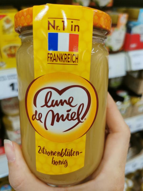 Honig Sirup Zitronenblütenhonig aus Frankreich - Foto: dbj-Leserin